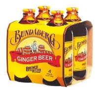 Bundaberg Ginger Beer Non-alcoholic Beverage (Australia) 12-pack 375ml
