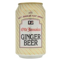 D & G, Soda Ginger Beer, 12-once (24 Pack)